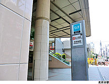 茗荷谷駅(現地まで560m)