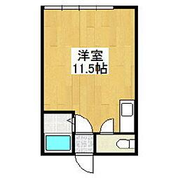 ハイツリバーサイド2[2階]の間取り
