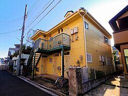 埼玉県所沢市弥生町の賃貸アパートの外観