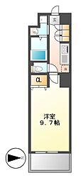 プロシード千代田[10階]の間取り