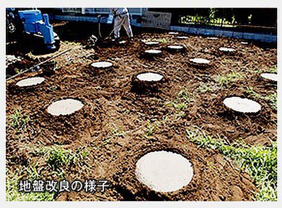 地盤改良:補強...