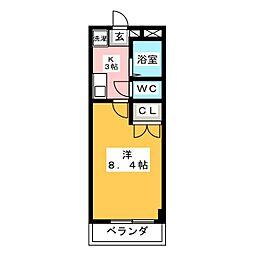 ガストホーフIII[3階]の間取り