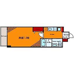 グランヴァン亀戸III[6階]の間取り