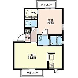 Casa Cecile[1階]の間取り