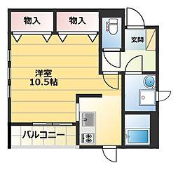 メゾンプラス[1階]の間取り