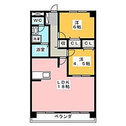 津ロードリーマンション[7階]の間取り