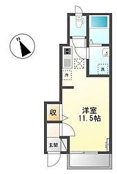 GRANDE AMI[1階]の間取り