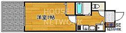 プレサンス京都四条烏丸クロス[102号室号室]の間取り