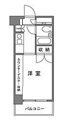 東京都目黒区下目黒5丁目の賃貸マンションの間取り