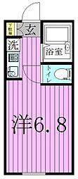 メゾン・ラフィネ亀有[2階]の間取り