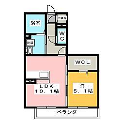 仮)D−room瑞穂野田新田[1階]の間取り