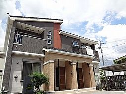 愛知県北名古屋市西之保清水田の賃貸アパートの外観