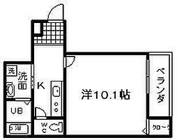 ノースライン 1番館[1階]の間取り