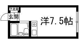 上ヶ原ハイツ[2階]の間取り
