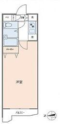 メインステージ赤塚[3階]の間取り