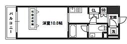 デュオン新大阪レジデンス[6階]の間取り