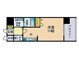 エトゥール山王公園[11階]の間取り