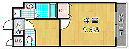 M'PLAZA津田駅前十番館[6階]の間取り