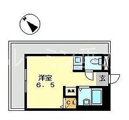 ヴィオス多聞[4階]の間取り
