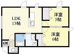 発寒中央駅 6.1万円