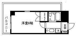 ロイヤル横浜[203号室]の間取り