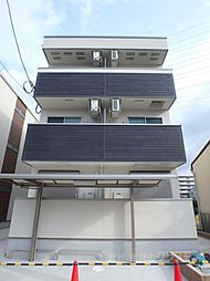大阪府大阪市平野区長吉長原3丁目の賃貸アパートの外観