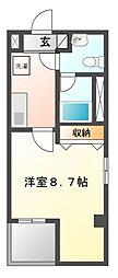 スマートガーデン津田沼[3階]の間取り