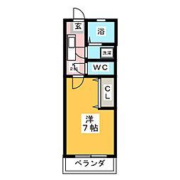 コンフォートIII[1階]の間取り