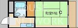 京都府京都市東山区二町目の賃貸マンションの間取り