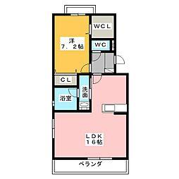 Sakigake[3階]の間取り