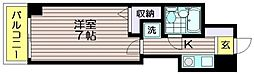 ブランコート仙川[4階]の間取り