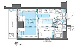 ZOOM神宮前[6階]の間取り