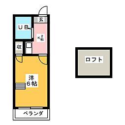 スプリングシールド[1階]の間取り