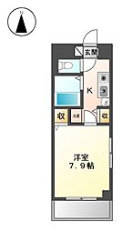 ジュネス上飯田[1階]の間取り