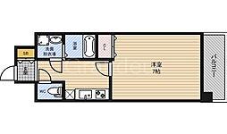 フォレストガーデン今福鶴見4[1階]の間取り