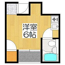 シティハイツ加茂川[301号室]の間取り