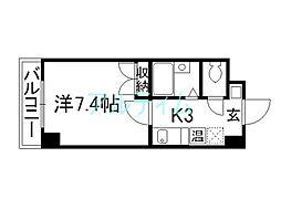 Sakura Residence[5階]の間取り