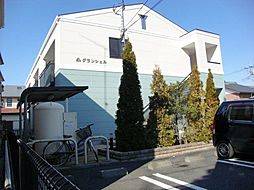 神奈川県海老名市中新田1丁目の賃貸マンションの外観