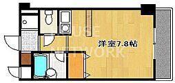 サンフェスタ東福寺[C207号室号室]の間取り