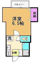 リヴェール仙川[2階]の間取り