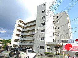 福岡県久留米市国分町の賃貸マンションの外観