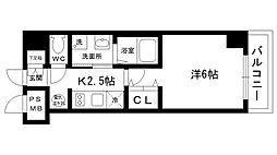 シティライフ夙川[703号室]の間取り