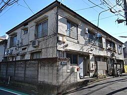 東京都新宿区須賀町の賃貸アパートの外観