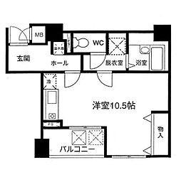 YOSHIDA BLDG-01[0402号室]の間取り