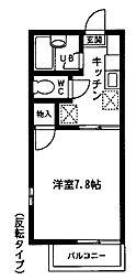 ハイム小沢2[203号室]の間取り