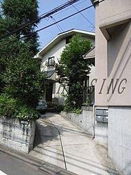東京都渋谷区西原3丁目の賃貸アパートの外観