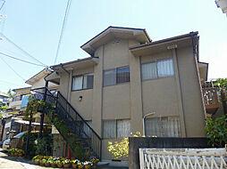 大阪府茨木市北春日丘2丁目の賃貸アパートの外観