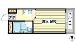 サンワプラザ福崎I[312号室]の間取り