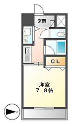 AXIS桜通内山[3階]の間取り