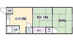 第二東和マンション[4階]の間取り